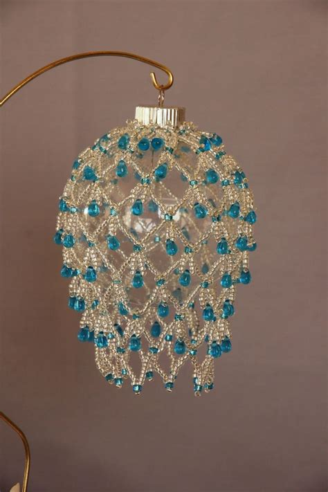 beaded ornaments pin by jeri carroll on decorations