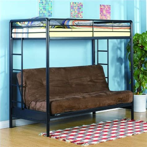 dorel home products futon bunk bed dorel home products futon bunk bed black