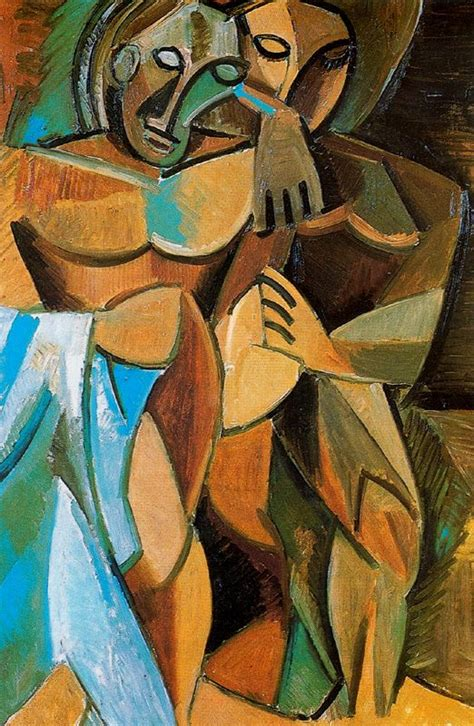 picasso paintings period pablo picasso influenced period period 1907 1909