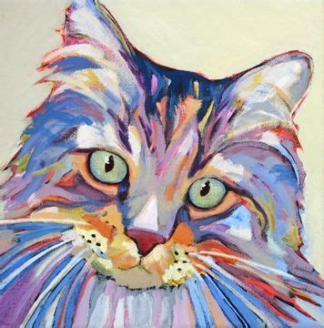 do cat painting 25 best ideas about cat paintings on cat