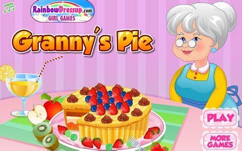juegos de cocina cocinar pastel con la abuela juegos de - Juegos De Cocina Con La Abuela