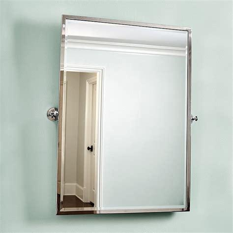 pivot bathroom mirrors amelie rectangular pivot mirror ballard designs