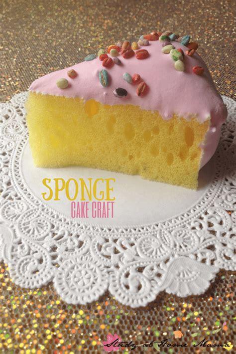 cake craft for craft ideas sponge cake craft