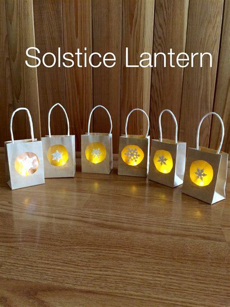 winter solstice crafts for craft solstice lantern our montessori