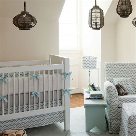 chevron baby crib bedding mist and gray chevron crib bedding neutral baby bedding