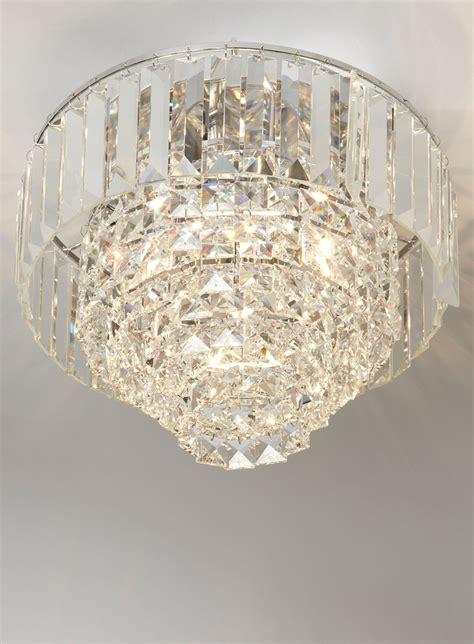 bhs chandeliers chrome paladina flush ceiling lights lighting