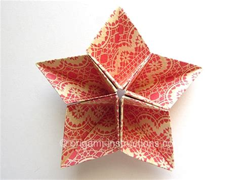 five pointed origami origami origami kusudama 5 pointed