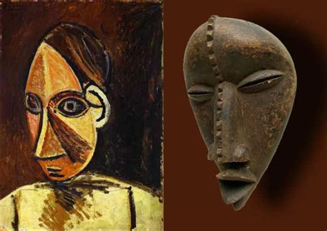 picasso paintings mask cubism the abstract style of modern