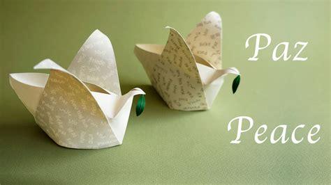 origami peace dove paper peace dove box for cajita de la