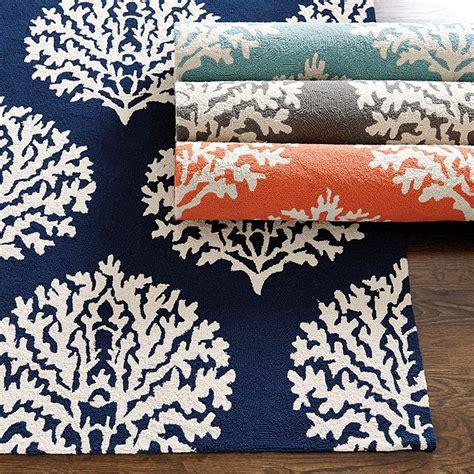 sicilian coral indoor outdoor rug ballard designs