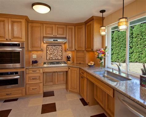 accessible kitchen design ada kitchen design ideas pictures remodel and decor