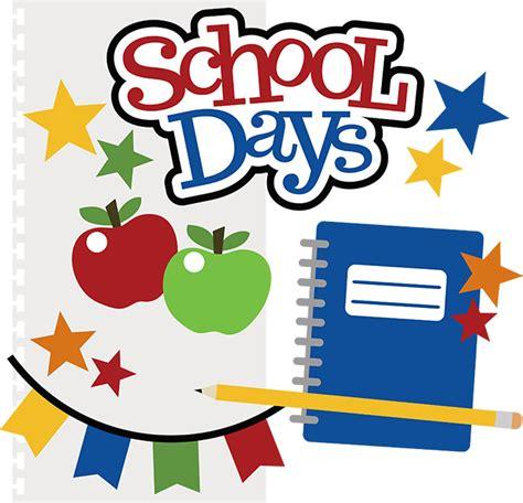 school days exercises a school day