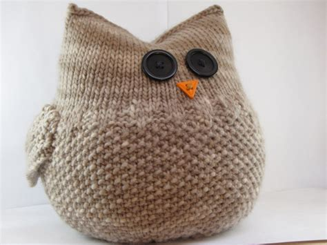 knitting patterns for owls knitting an owl suburbia
