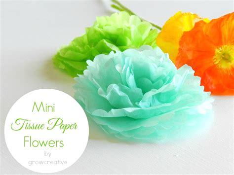 flower tissue paper craft simple tissue paper flowers 30 minute crafts