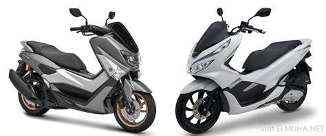 Pcx 2018 Atau Nmax 2018 by Pilih Yamaha Nmax Atau Honda Pcx 150 Elmuha Net