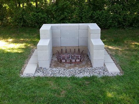 Home And Garden Patio Furniture by Cinder Block Fire Pit Inexpensive And Attractive Ideas