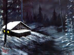 bob ross paintings winter the of painting with bob ross winter mountains