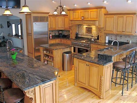 granite kitchen designs granite countertops adding practical luxury to modern