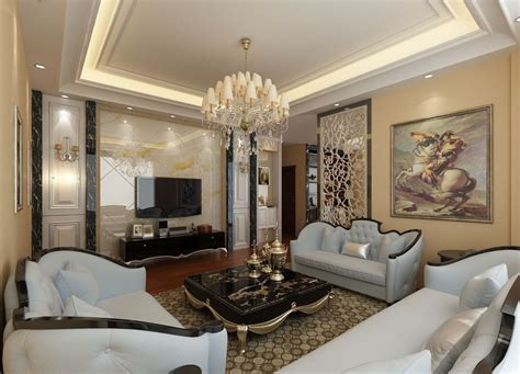 living room decoration hollow wall decor for villa living room 3d house