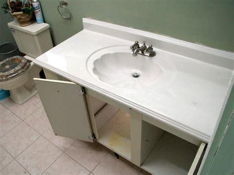 installing new bathroom vanity installing a bathroom vanity sink how to install a new