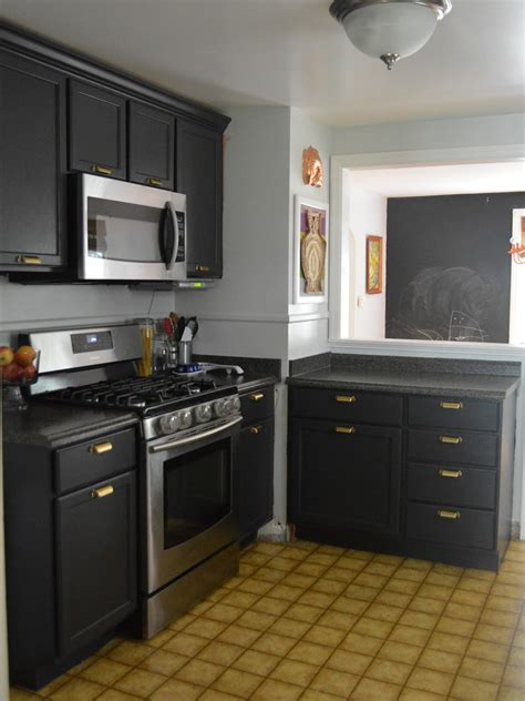 small kitchen black cabinets picture of small kitchen design black cabinets and grey