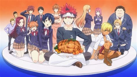 food wars anime review a savory dish is served in food wars