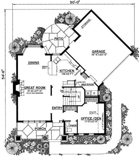 interesting floor plans unique floor plan hides garage 43040pf architectural designs house plans