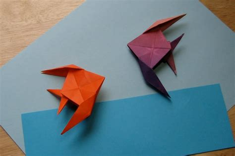 origami fish fish foldsomething origami paper crafts