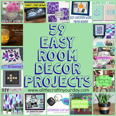 ideas for easy 59 easy diy room decor projects a craft in your day