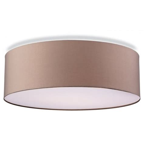 contemporary lights ceiling contemporary flush ceiling light in taupe finish