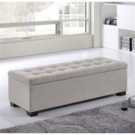 storage ottoman bench bedroom best 25 upholstered storage bench ideas on