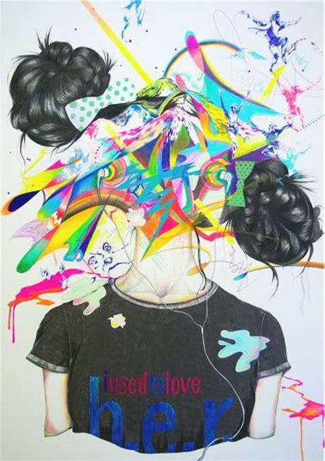 nakata yumi explosive paintings yumi nakata