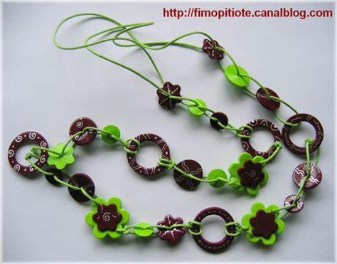 bijoux pate fimo collier bracelet bo 30 photo de colliers en fimo pitiote et la pate fimo