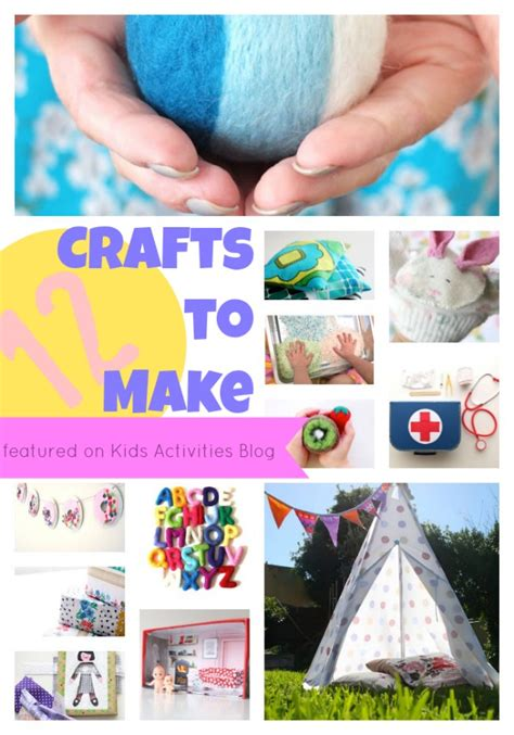 crafts to do at home for 12 crafts to make at home