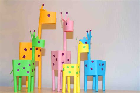 crafts for with paper paper crafts for paper giraffes easy paper diy
