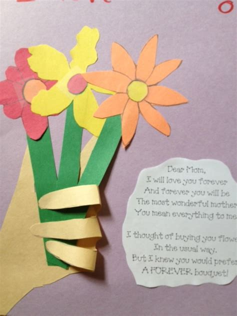 mothers day crafts for preschool crafts for s day flowers with