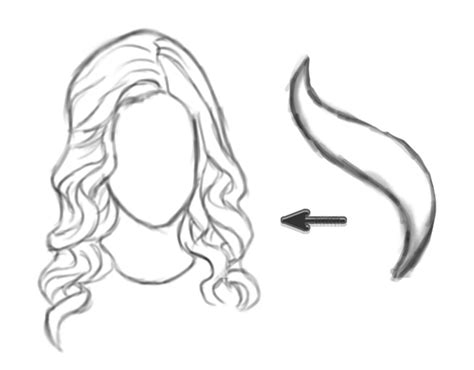 how to draw curly hair how to draw curly hair curly hair