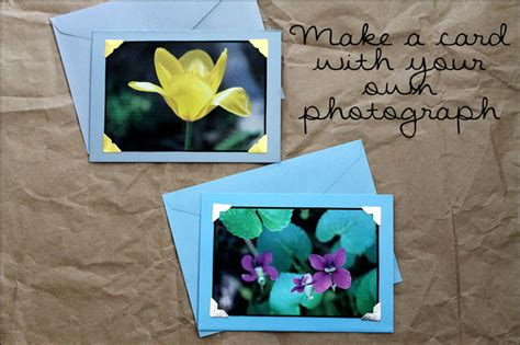 make your own greeting card create own greeting card with your photos wblqual