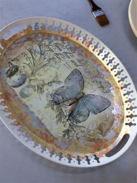 decoupage tray ideas decoupage tray decoupage work decoupage