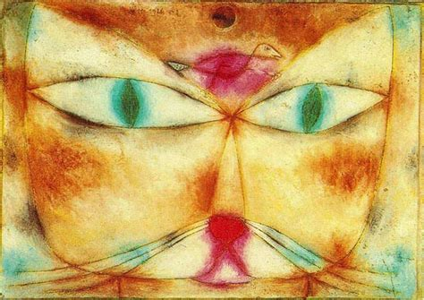 do cat painting 10 most paintings by paul klee learnodo newtonic