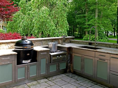 the stainless steel outdoor kitchen cabinets for your home
