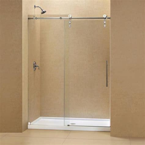 bathroom shower door 17 best ideas about sliding shower doors on