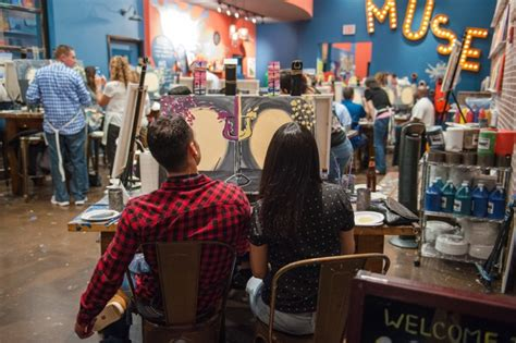 the muse paintbar muse paintbar now open at willow lawn