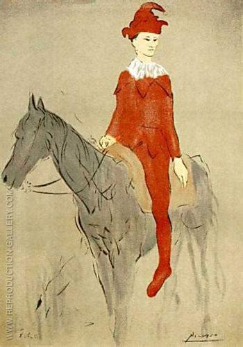 picasso paintings of horses clown on a 1905 by pablo picasso paintings