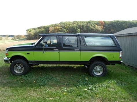 95 Ford Bronco by Purchase Used 95 Ford Bronco Centurion In Whiteford