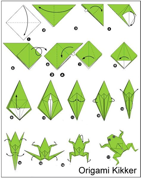 how to make an easy origami frog best 25 origami frog ideas on easy origami