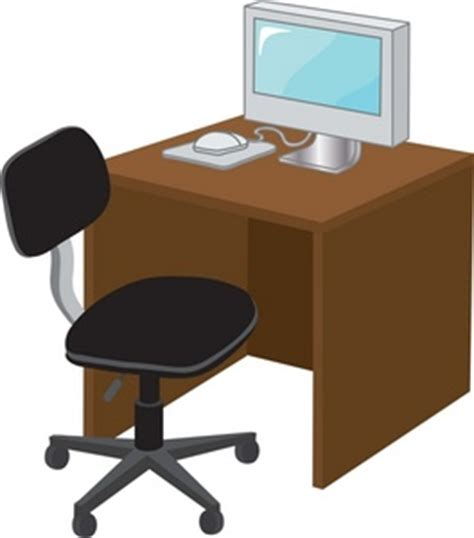 office desk clipart office desk clipart