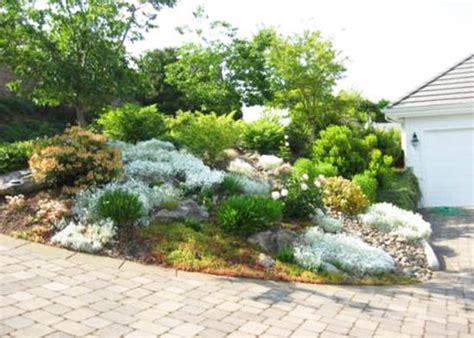 front yard rock garden rock garden design tips 15 rocks garden landscape ideas