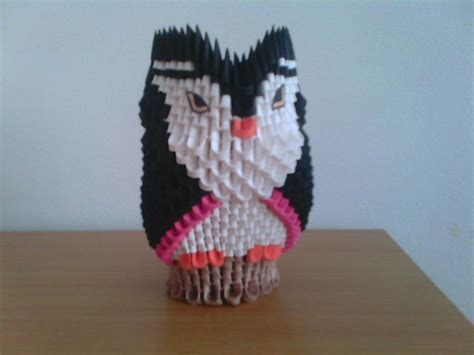 3d origami owl 3d origami owl by andreiis on deviantart