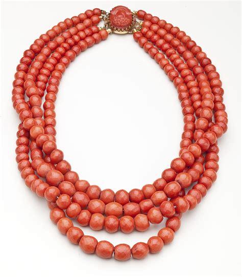 coral for jewelry description